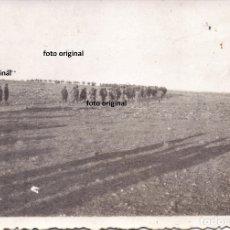 Militaria: INFANTERIA ESPAÑOLA NACIONAL FRENTE ARAGON BATALLA DEL EBRO 1938 GUERRA CIVIL. Lote 181594111