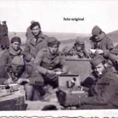 Militaria: ARTILLERIA ITAIANA FLECHAS AZULES CTV FRENTE TERUEL ARAGON GUERRA CIVIL . Lote 181682050