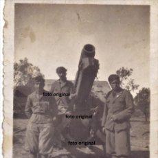 Militaria: PIEZA ARTILLERA FRENTE ARAGON FLECHAS AZULES CTV GUERRA CIVIL. Lote 181683890
