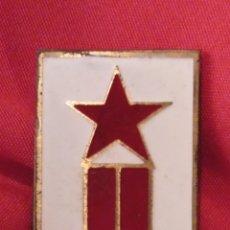 Militaria: ESCASA DIVISA METÁLICA DE BRIGADA DEL EJÉRCITO POPULAR, ORIGINAL GUERRA CIVIL. LEER DESCRIPCIÓN . Lote 181819030