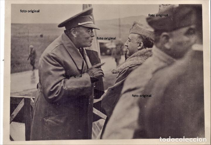 CHARLA GENERAL HUGO SPERRLE LEGION CONDOR GENERAL FRANCISCO FRANCO BURGOS GUERRA CIVIL (Militar - Guerra Civil Española)