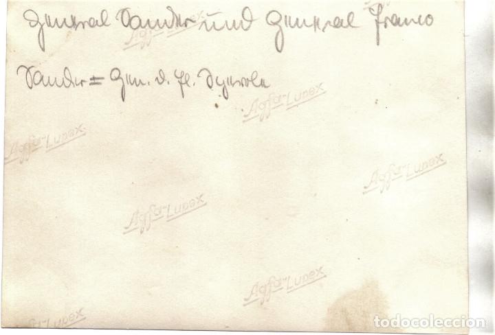 Militaria: CHARLA GENERAL HUGO SPERRLE LEGION CONDOR GENERAL FRANCISCO FRANCO BURGOS GUERRA CIVIL - Foto 2 - 181936305