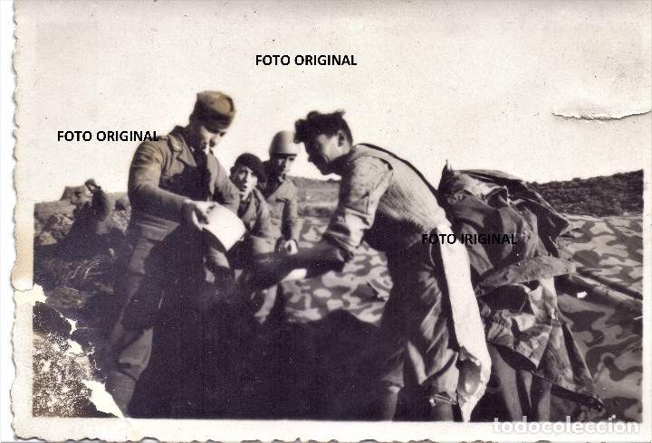 CTV FLECHAS AZULES FRENTE TERUEL 1937 GUERRA CIVIL (Militar - Guerra Civil Española)