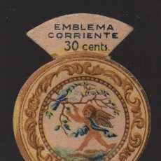 Militaria: EMBLEMA CORRIENTE , 30 CTS,. AUXILIO SOCIAL, VER FOTOS. Lote 182073580