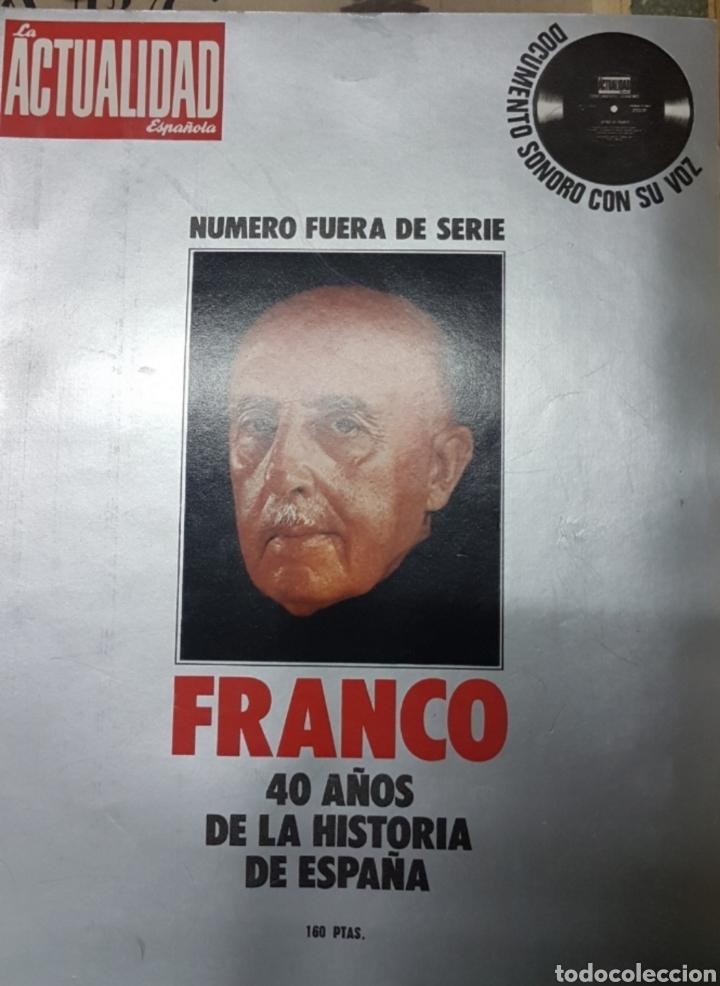 Militaria: Lote periódicos muerte de Franco - Foto 3 - 182299971