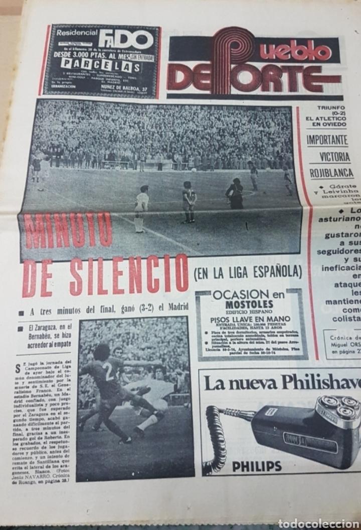 Militaria: Lote periódicos muerte de Franco - Foto 5 - 182299971