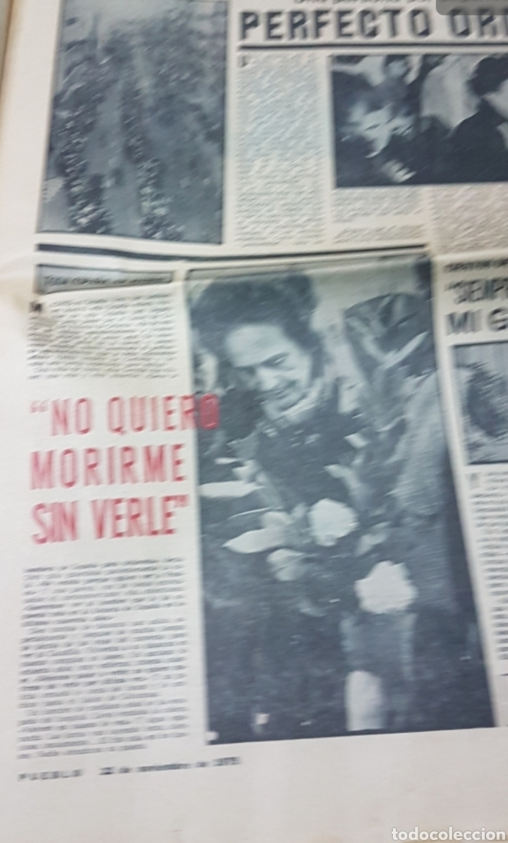 Militaria: Lote periódicos muerte de Franco - Foto 10 - 182299971