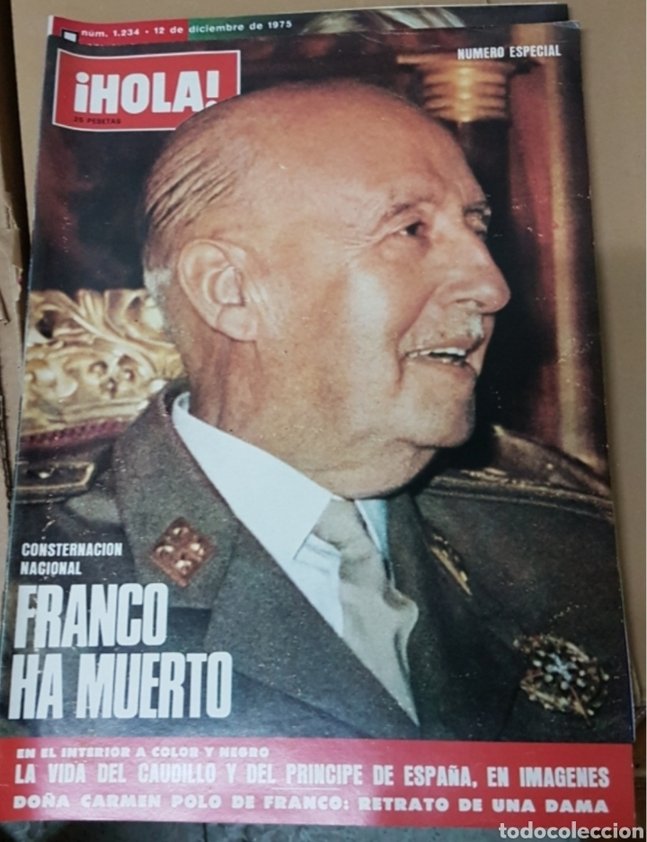 Militaria: Lote periódicos muerte de Franco - Foto 11 - 182299971