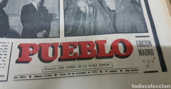 Militaria: Lote periódicos muerte de Franco - Foto 13 - 182299971