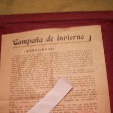 Militaria: PROPAGANDA DE LA GUERRA CIVIL ESPAÑOLA. Lote 182402782