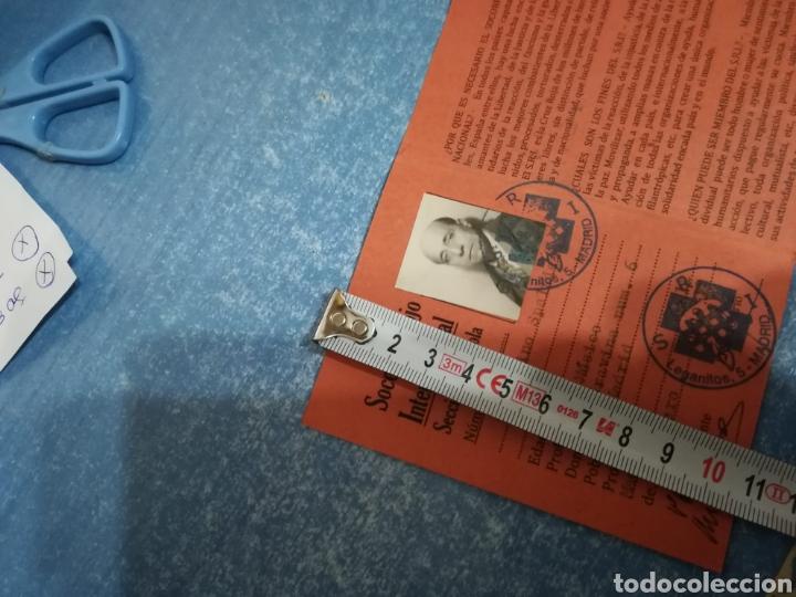Militaria: * Antiguo carnet republicano original de brigadas internacionales, Italia. SRI. Guerra civil. ZX - Foto 8 - 111904115