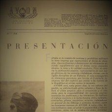 Militaria: REVISTA OFICIAL DEL COMISARIADO DE AVIACIÓN.Nº1.1938. Lote 182891056