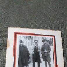 Militaria: REPÚBLICA. FOTO DE MILITARES EN ORENSE.. Lote 184564777