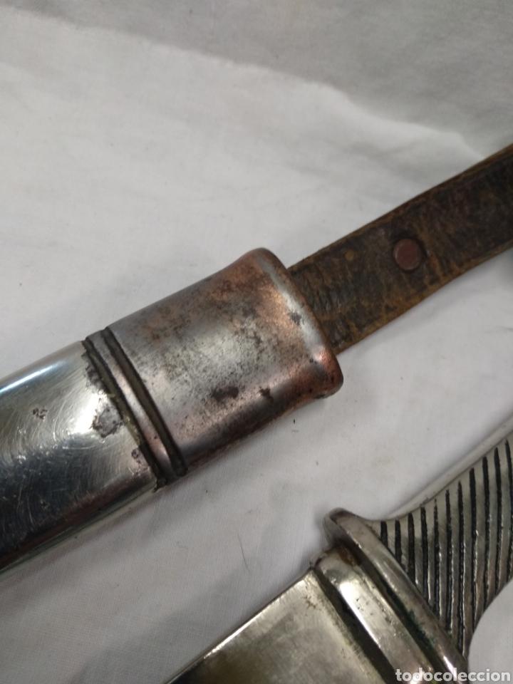 Militaria: Daga machete cuchillo de Falange para oficial - Foto 9 - 186402150