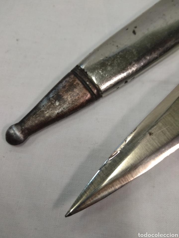 Militaria: Daga machete cuchillo de Falange para oficial - Foto 11 - 186402150