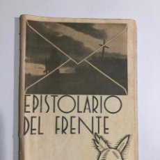 Militaria: EPISTOLARIO DEL FRENTE (1937) - FRANQUISTA GUERRA CIVIL. Lote 187184833