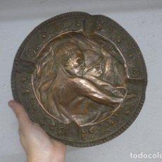 Militaria: ANTIGUO PLATO VASCO DE EPOCA REPUBLICANA, CON PROVINCIAS VASCAS. ORIGINAL. EUSKALHERRIA.. Lote 187825785