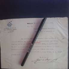 Militaria: FRANCISCO FRANCO - LEGIÓN COMANDANTE INFANTERÍA - MELILLA 1922. Lote 189422391