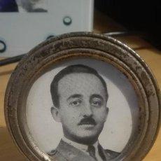 Militaria: FOTOGRAFIA FRANCISCO FRANCO. ENMARCADA. LEER TEXTO.. Lote 189453567