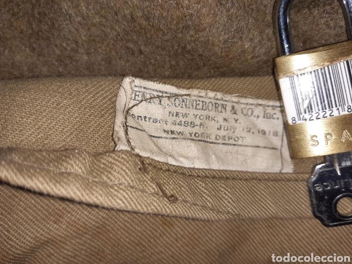 Militaria: Chaqueton del batallon Lincoln, Brigadas internacionales, Guerra civil. - Foto 7 - 190625707