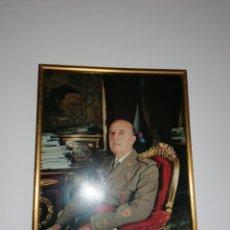 Militaria: CUADRO DE FRANCO. Lote 191332955