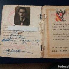 Militaria: CARNET MILITAR. Lote 192756787