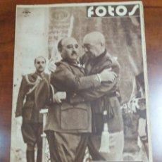 Militaria: ALCÁZAR DE TOLEDO FRANCO 1939.. Lote 193427775