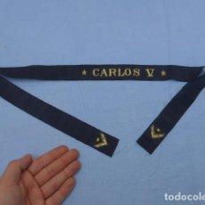 Militaria: * ANTIGUA CINTA DE LEPANTO DEL CARLOS V, ORIGINAL, MARINA ARMADA DE ALFONSO XIII O REPUBLICA. ZX. Lote 193745487