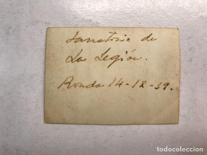 Militaria: MILITAR. Fotografía Original de pequeño tamaño. RONDA. Sanatorio de la Legion (14 - 12 - 1939) - Foto 2 - 194245823