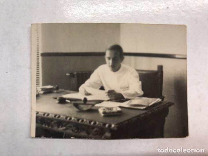 MILITAR. FOTOGRAFÍA ORIGINAL DE PEQUEÑO TAMAÑO. RONDA. SANATORIO DE LA LEGION (14 - 12 - 1939) (Militar - Guerra Civil Española)