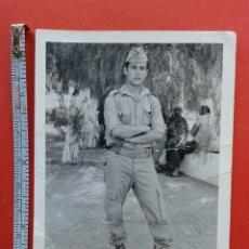 Militaria: FOTO SOLDADO MILITAR. Lote 194291955