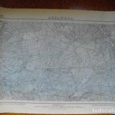 Militaria: MAPA DE ALHAMBRA DEL EJERCITO NACIONAL E 1:50000 SELLO DEL CUARTEL GENERAL DEL GENERALÍSIMO. Lote 194380597