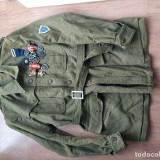 Militaria: GUERRERA DE CORONEL PROVISIONAL ITALIANO DIVISIÓN LITORIO. Lote 194513613
