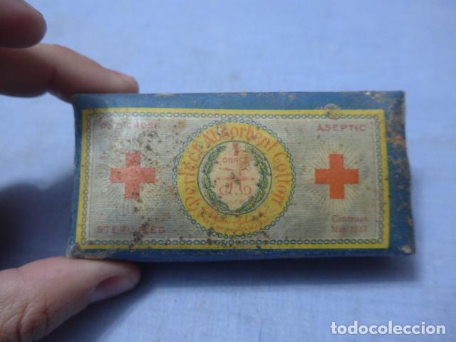Militaria: * Lote de 5 paquetes de sanidad militar de guerra civil, originales sin abrir. Farmacia. ZX - Foto 12 - 194538286