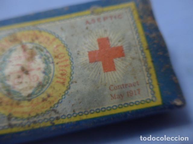 Militaria: * Lote de 5 paquetes de sanidad militar de guerra civil, originales sin abrir. Farmacia. ZX - Foto 13 - 194538286
