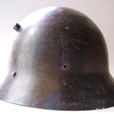 Militaria: CASCO CHECO CON SIGLAS ILEGIBLES. Lote 194624716