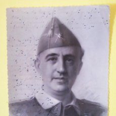 Militaria: FOTOGRAFÍA FIRMADA Y DEDICADA POR EL GENERAL MILLAN ASTRAY SALAMANCA 1937 . Lote 194669892