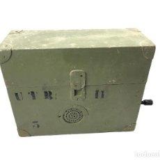 Militaria: TELEFONO DE CAMPAÑA GUERRA CIVIL REPINTADO. Lote 195308606