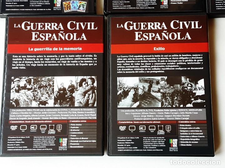 Militaria: LA GUERRA CIVIL ESPAÑOLA SAV COMPLETA - Foto 13 - 195358066