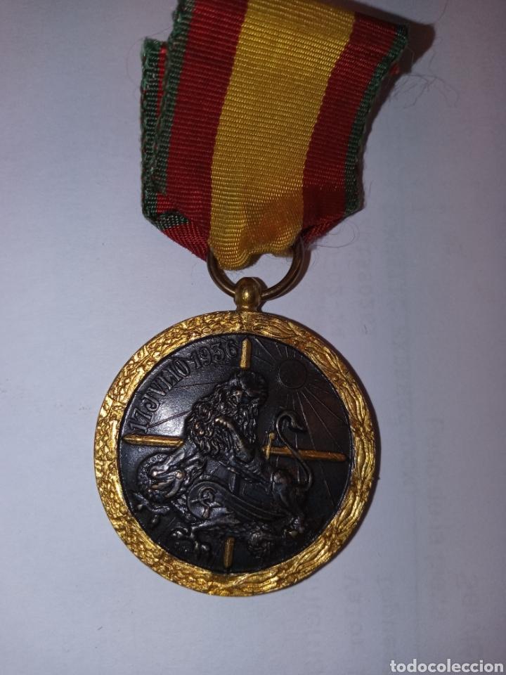 MEDALLA DE LA CAMPAÑA DE ESPAÑA PARA LA LEGION CONDOR (Militar - Guerra Civil Española)