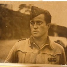 Militaria: GUERRA CIVIL ESPAÑOLA, FOTO DE CAPITÁN, ORIGINAL. Lote 195487962