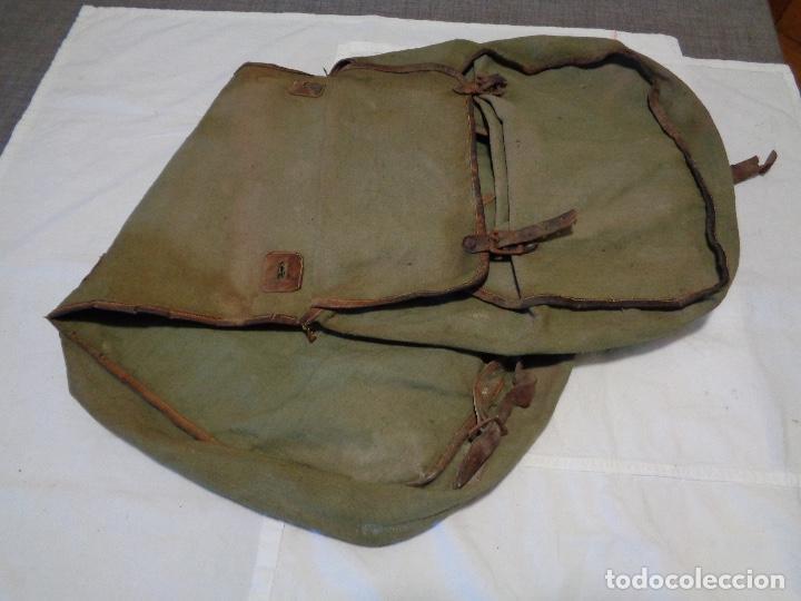 Militaria: macuto caballería guerra civil española - Foto 2 - 195636222