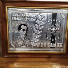 Militaria: PLACA TROQUELADA PRIMO DE RIVERA. Lote 195918818