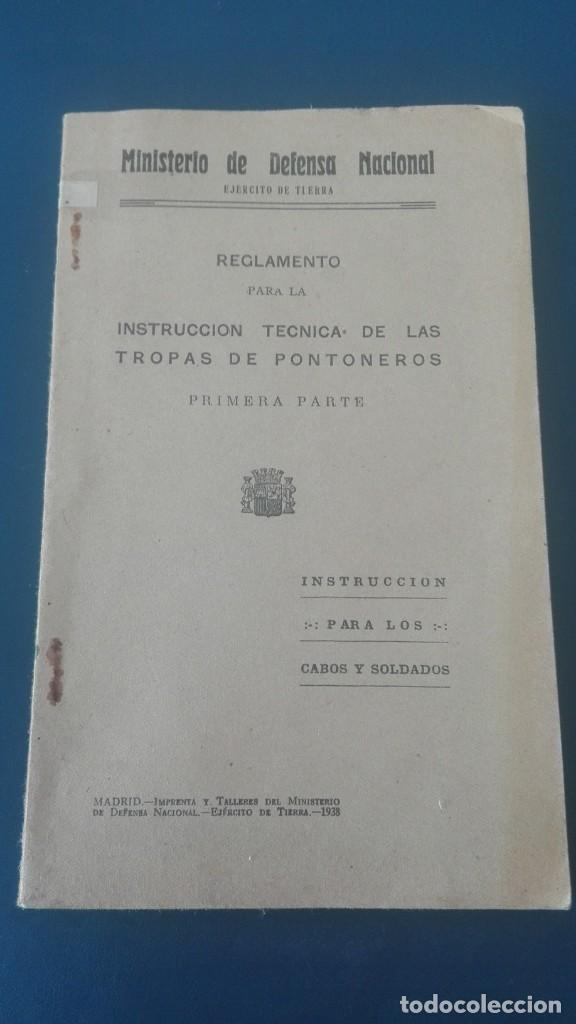 EJÉRCITO REPUBLICANO TROPAS DE PONTONEROS. 1938. C8 (Militar - Guerra Civil Española)
