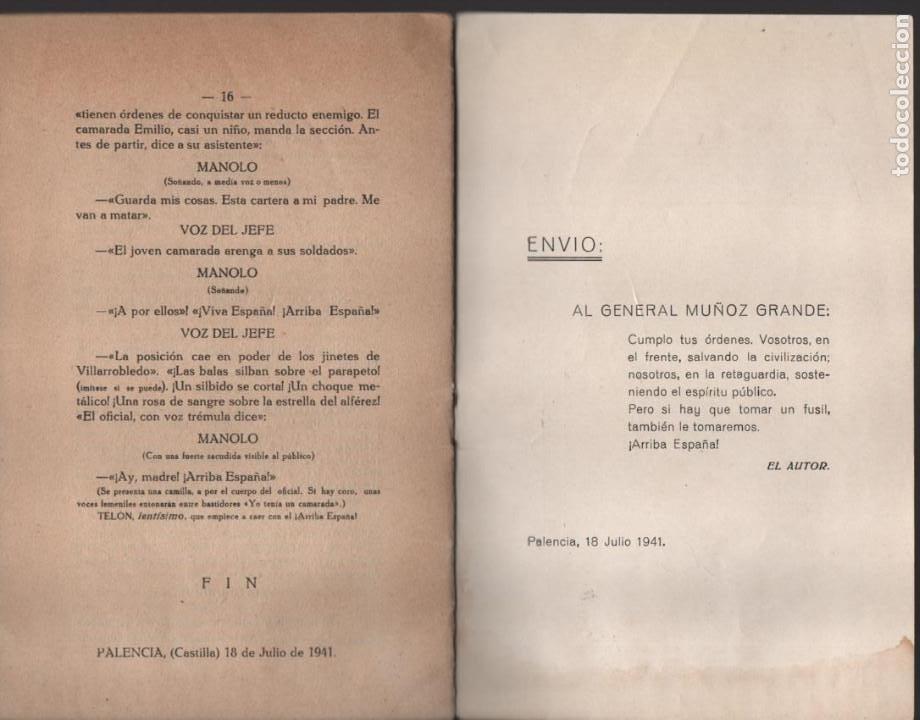Militaria: CAMPAMENTO.- FRENTE DE JUVENTUDES, 16 PAG, VER FOTOS - Foto 5 - 197148942
