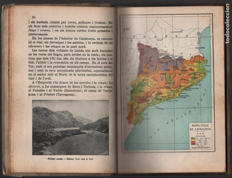 Militaria: LA TERRA CATALANA- POR JOAQUIN PLA CARGOL- AÑO 1936.- 190 `PAGINAS, VER FOTOS - Foto 6 - 197184101