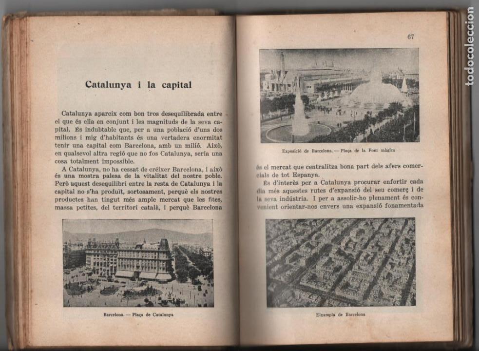 Militaria: LA TERRA CATALANA- POR JOAQUIN PLA CARGOL- AÑO 1936.- 190 `PAGINAS, VER FOTOS - Foto 8 - 197184101