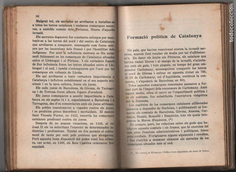 Militaria: LA TERRA CATALANA- POR JOAQUIN PLA CARGOL- AÑO 1936.- 190 `PAGINAS, VER FOTOS - Foto 10 - 197184101