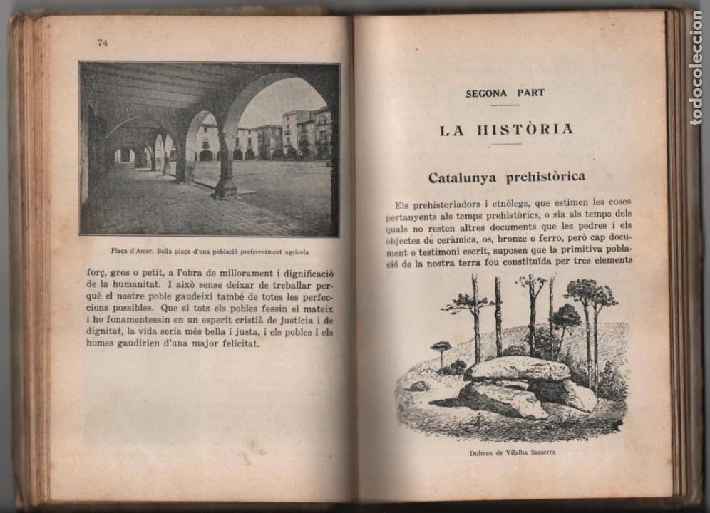 Militaria: LA TERRA CATALANA- POR JOAQUIN PLA CARGOL- AÑO 1936.- 190 `PAGINAS, VER FOTOS - Foto 13 - 197184101