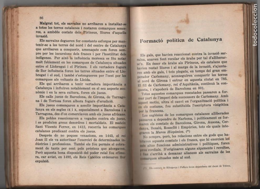 Militaria: LA TERRA CATALANA- POR JOAQUIN PLA CARGOL- AÑO 1936.- 190 `PAGINAS, VER FOTOS - Foto 14 - 197184101